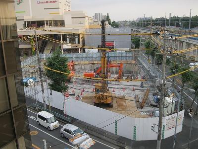 2014年7月21日 コンクリートの壁を残して、がれきが撤去。