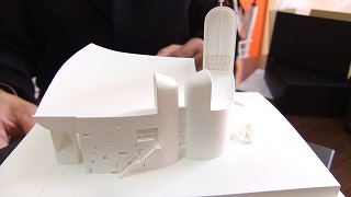 ロンシャン礼拝堂模型