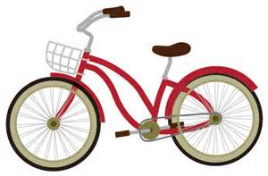 自転車で回っています。