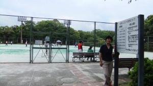 習志野市のテニスコート