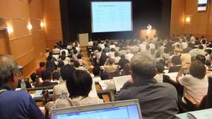 500人以上が参加して熱心な研修会だった